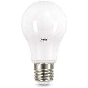 Лампа светодиодная А60 Е27 10вт 2700/4100К (Gauss CTC-10-220-2.7/4.1K-E27 102502110-T)
