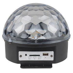Светодиодный многоцветный светильник-проектор (Uniel Volpe-Disco-ULI-Q330-8-RGB-Black UL-00000301)