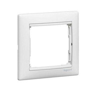 Одноместная рамка Legrand, белая (Legrand Valena 774451)