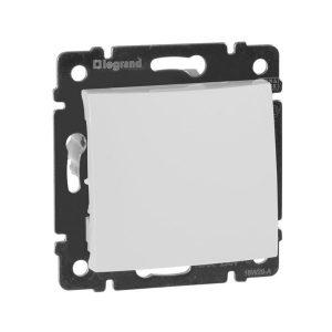 Одноклавишный промежуточный выключатель, белый (Legrand Valena-250V-10A 774407)