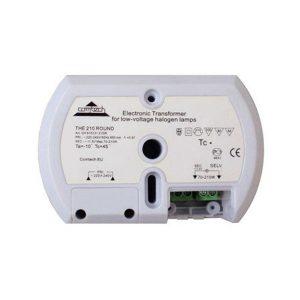 Электронный трансформатор для галогенных ламп 210вт 220/12в 17.5а (КОМТЕХ THE-210-ROUND-220-12-210)
